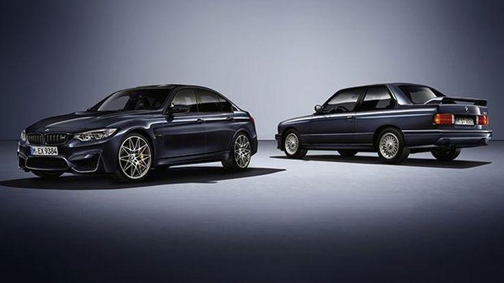 BMW ส่ง 30 Years M3 ฉลองครบรอบ 30 ปี