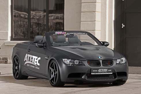 BMW M3 Convertible ดุ ดำ ดิบ ด้วยพลังม้า 513 ตัว เนรมิตรโดย ATT-TEC