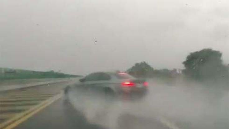 จังๆแบบนี้นึกว่าไม่รอด! BMW M3 Coupe กับวันที่แย่สุดในชีวิตบนถนนไฮเวย์