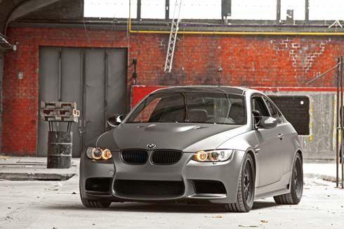 BMW M3 Coupe สีเทาด้านพิเศษจาก Cam Shaft พร้อมของแต่งแบรนด์เนม