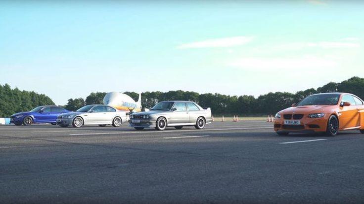 BMW M3 ท้าดวล วัดกันไปเลยเจนไหนแรงสุด