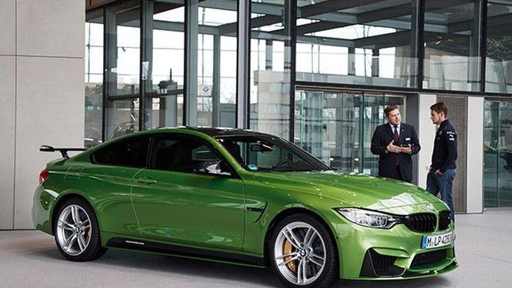 อย่างหล่อเลย BMW M4 เวอร์ชั่นพิเศษมอบให้แชมป์ DTM