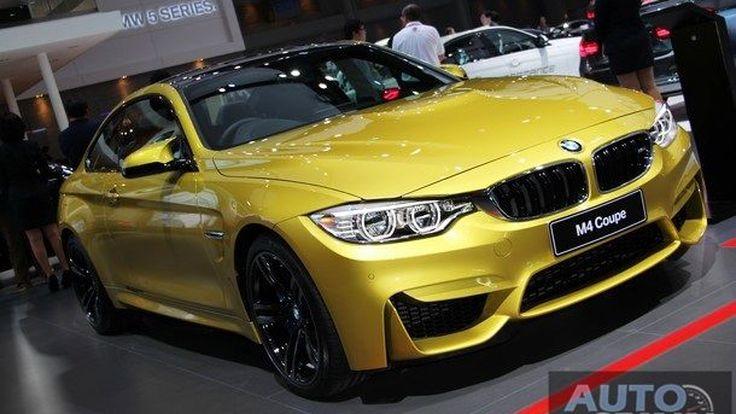 [BMIS2017] พาชมตัวแรง BMW M4 สปอร์ตคูเป้สุดดุดัน ในมอเตอร์โชว์2017
