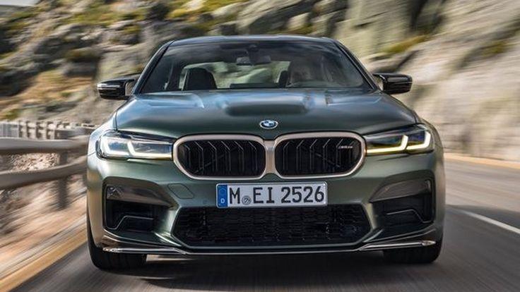 BMW M5 CS  ถือเป็น M Car ที่ทรงพลังที่สุดที่เคยมีมาในประวัติศาสตร์
