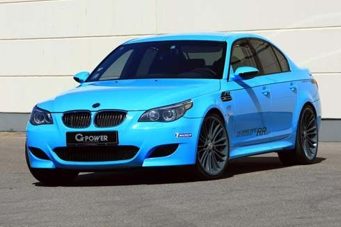 BMW M5 (E60) Hurricane RRs โดย G-Power ภาค 2 ของซีดานที่เร็วที่สุดในโลก