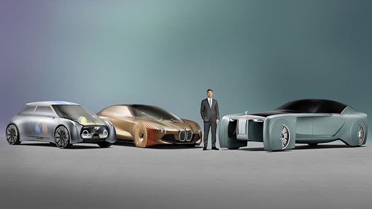 BMW เผยโฉมสองรถต้นแบบ MINI - Rolls-Royce ฉลอง 100 ปี