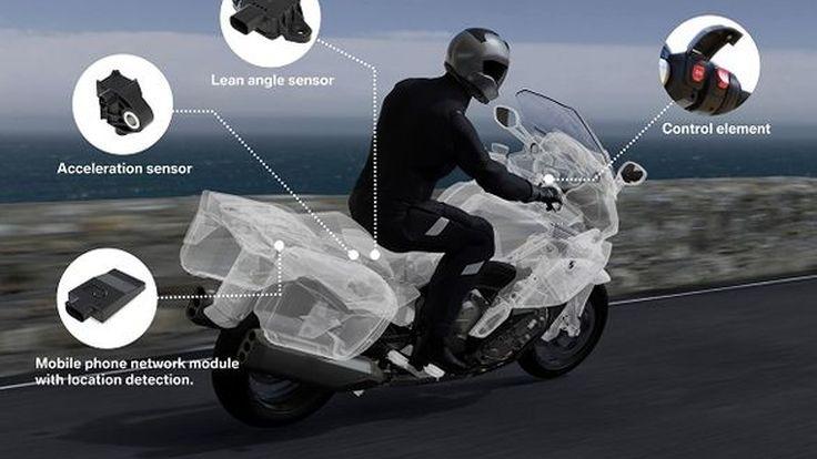 BMW Motorrad เปิดตัวระบบขอความช่วยเหลือฉุกเฉินอัตโนมัติยามเกิดอุบัติเหตุ