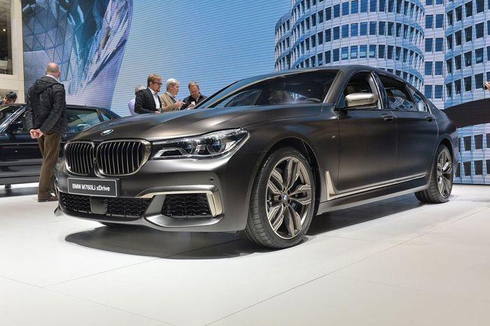 BMW ซุ่มพัฒนาซีดานระดับไฮเอนด์ แข่งกับเมอร์เซเดส-มายบัค