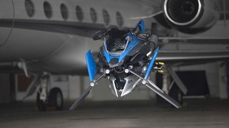 BMW R1200GS Hover จาก Lego สู่งานเรนเดอร์ของจักรยานยนต์แห่งอนาคต