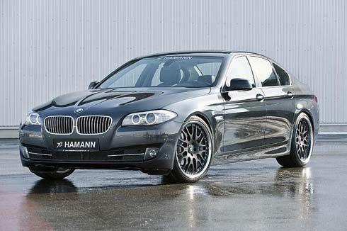 BMW Series 5 โฉมปัจจุบัน ปี 2010 แต่งโฉมโหลดเตี้ย 35 มิลลิเมตร โดย Hamann