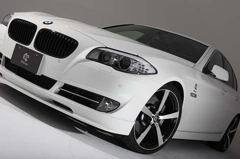BMW Series 5 โฉมใหม่ล่าสุด รหัสตัวถัง F10 ถูกลองของโดยสำนักแต่งแดนซามูไร 3D Design