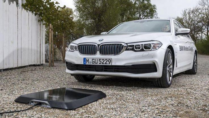 ระบบชาร์จไฟไร้สาย BMW ปลั๊กอินไฮบริดเตรียมเปิดตัวปีหน้า