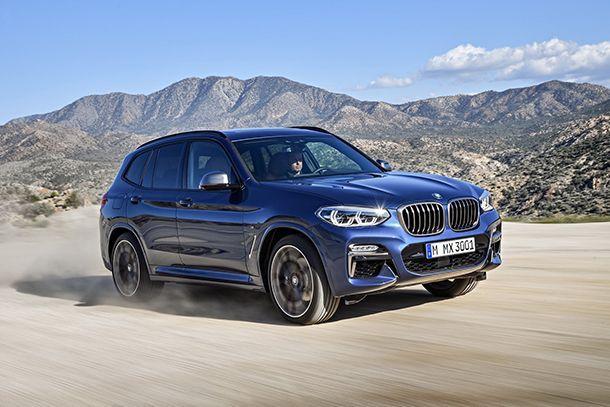 BMW เปิดตัวเอ็กซ์3 รุ่นใหม่ พร้อมรุ่นท็อปพลังแรง M40i Performance