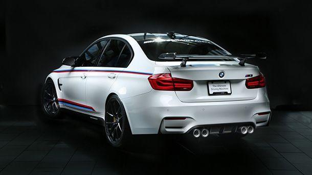 BMW อวดชิ้นส่วนและของแต่ง M Performance ชุดล่าสุด