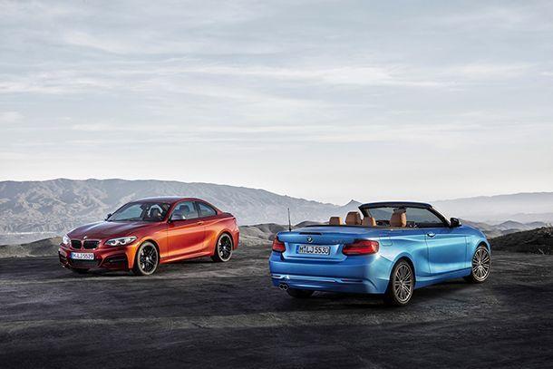 BMW ปรับโฉม 2-Series พ่วง M2 เพิ่มความสดใหม่เล็กน้อย