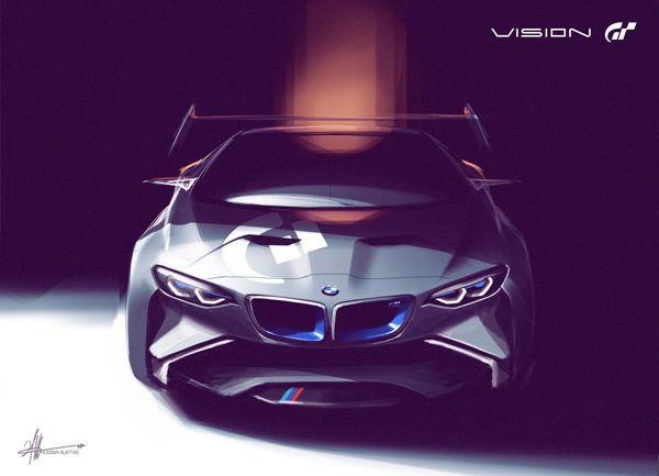 BMW Vision Gran Turismo รถแข่งในจินตนาการสำหรับคอเกม