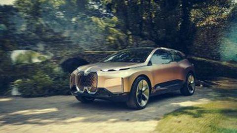 BMW Vision iNext ก้าวใหม่สุดล้ำสำหรับรถพลังงานไฟฟ้าที่ไร้คนขับ