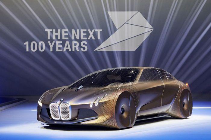 BMW ฉลองครบ 100 ปีด้วยรถต้นแบบ Vision Next 100