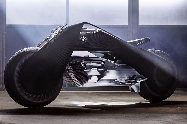 BMW Vision Next100 รถจักรยานยนต์แห่งอนาคตที่ไม่มีวันล้ม