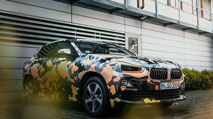 BMW เผยภาพ X2 พรางตัววิ่งโฉบเฉี่ยวในเมือง