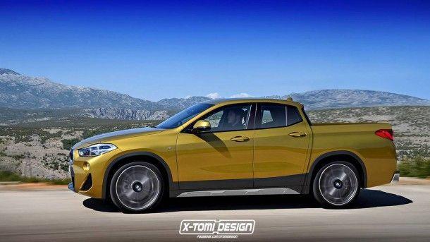 แปลกไม่น้อยกับ BMW X2 เวอร์ชั่นปิกอัพ กับผลงานการออกแบบเจ้าเก่าอย่าง X-Tomi Design