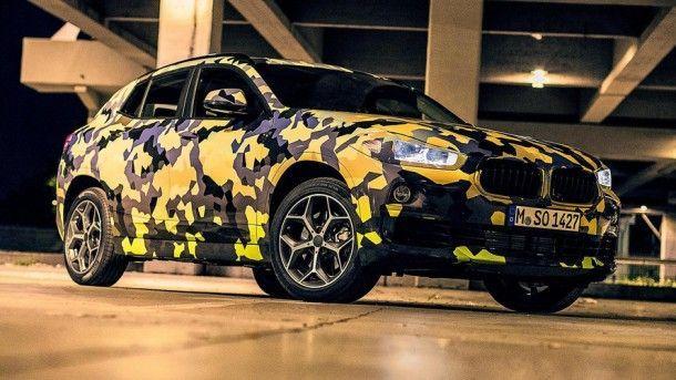 BMW X2 เริ่มวิ่งทดสอบบนถนนจริงๆ กลางกรุงมิลาน ประเทศอิตาลี