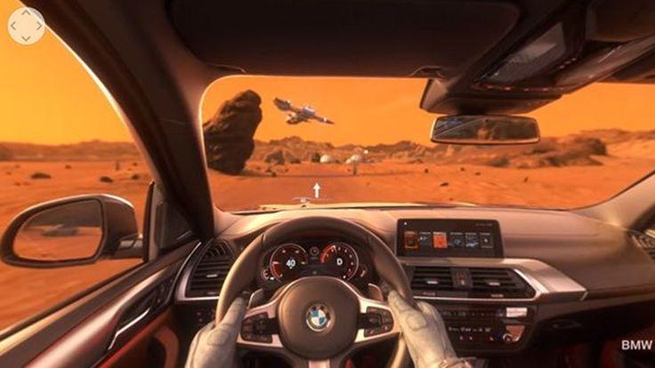 บุกดาวอังคาร BMW โชว์วีดีโอ X3 ขับขี่บนดาวแดงอันไกลโพ้น