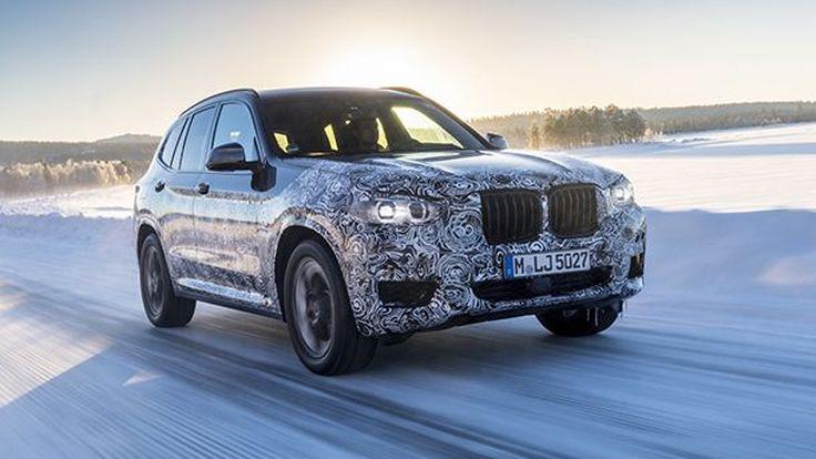 BMW X3 เจนเนอเรชั่นใหม่จ่อเปิดตัวสัปดาห์หน้า