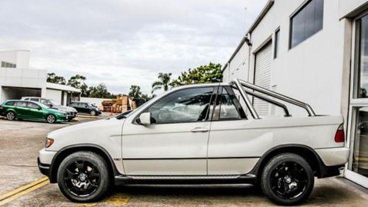 ทำไปได้ แปลงโฉม BMW X5 จากเอสยูวีสุดหรูสู่รถปิกอัพ