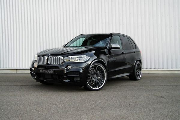 แต่ง BMW X5 ใส่ล้อแบบโหดๆ สไตล์เยอรมันโดย Hamann