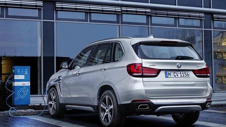 BMW X5 xDrive40e ปลั๊กอินไฮบริดรุ่นล่าสุดประหยัดทะลุ 30 กม./ลิตร