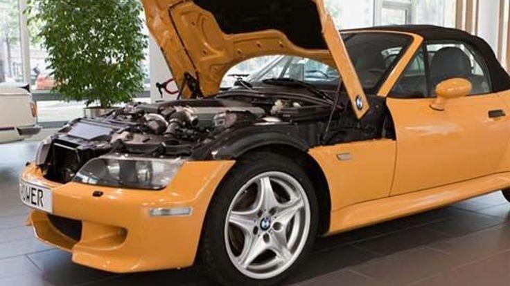 BMW โชว์การยัดเครื่องยนต์ V12 ลงใน Z3 Roadster รุ่นต้นแบบ