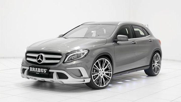 Mercedes-Benz GLA จูนอัพทั้งความหล่อและความแรงโดย Brabus