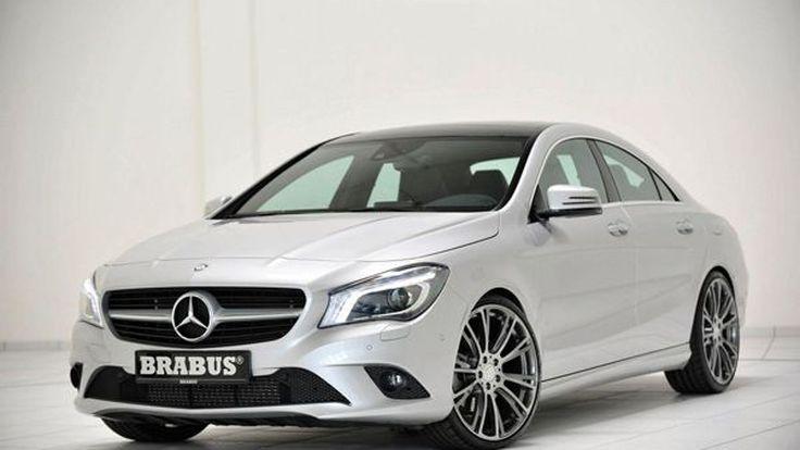 แต่ง Mercedes-Benz CLA หล่อโดนใจและทรงพลังยิ่งขึ้นโดยสำนัก Brabus