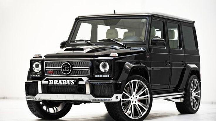 เผยโฉม Brabus Widestar 800 รุ่นปรับโฉม พัฒนาจากเอสยูวีพันธุ์แรง Mercedes-Benz G65 AMG