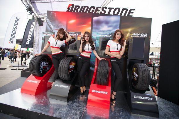 Bridgestone ผู้สนับสนุนหลัก รายการ Honda Day Live Night Race 2013