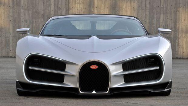 สวยล้ำ! ชมดีไซน์แรกเริ่มของ Bugatti Chiron