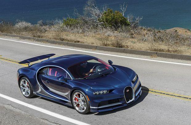 Bugatti อาจใช้ระบบไฮบริดเพื่อเพิ่มพลัง Chiron