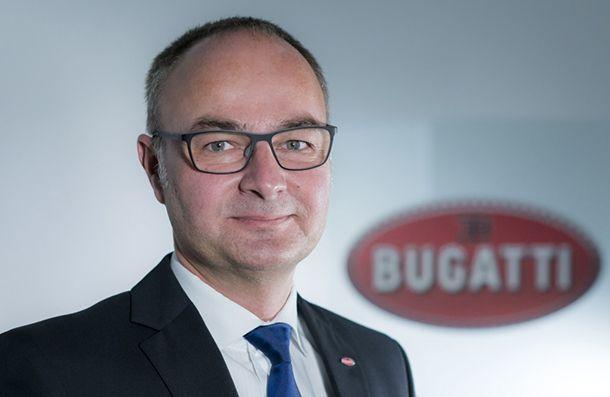 Bugatti แต่งตั้งหัวเรือฝ่ายพัฒนาผลิตภัณฑ์คนใหม่ เตรียมแตกไลน์ Chiron