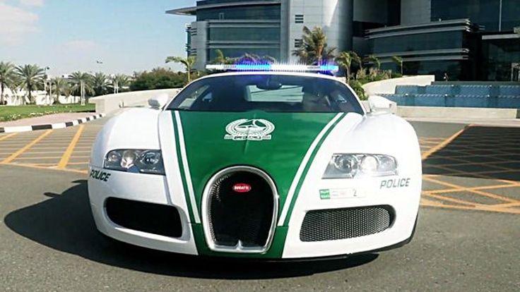 มาแล้ว! Bugatti Veyron ในมาดรถสายตรวจของดูไบ