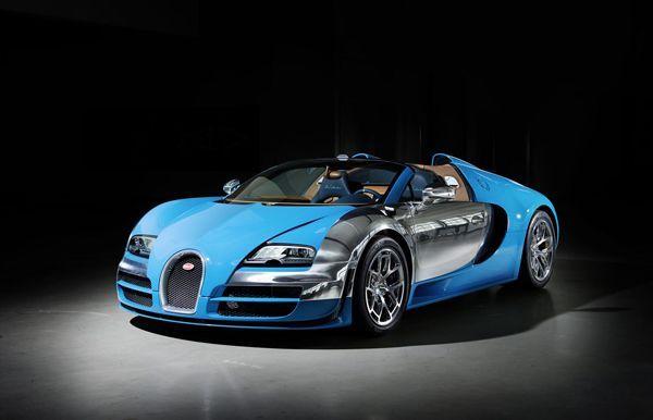 """เผยโฉมหน้า Bugatti Veyron Grand Sport """"Meo Costantini"""" สวยแบบเรโทร"""