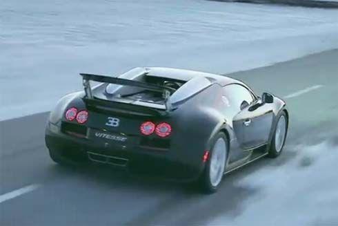 Bugatti Veyron 16.4 Grand Sport Vitesse สุดยอดยนตรกรรม ในคลิปวิดีโอโปรโมท