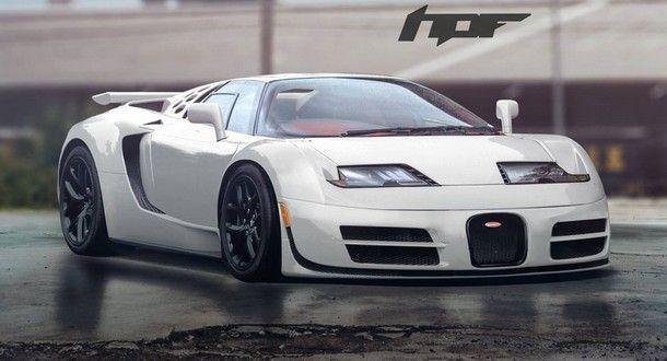 ชมภาพส่วนผสมระหว่าง Bugatti Veyron และ EB 110 ไฮเปอร์คาร์ระดับเทพ