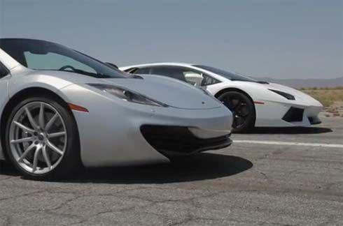ซุปเปอร์คาร์รุ่นไหนเร็วที่สุด? Veyron, Aventador, LFA หรือว่าจะเป็น MP4-12C