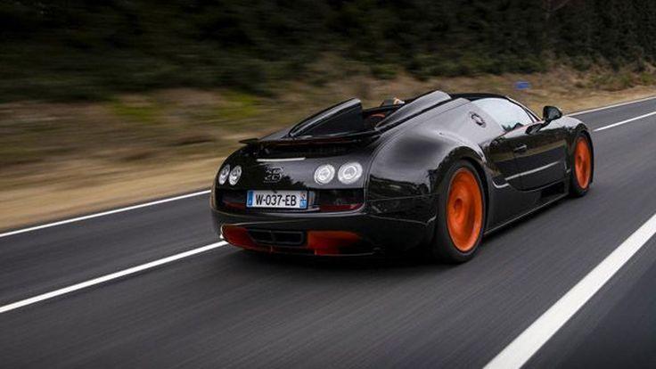 ชมวีดีโอ Bugatti Veyron Grand Sport Vitesse World Record Car Edition ทำสถิติ 408.84 กม./ชม.