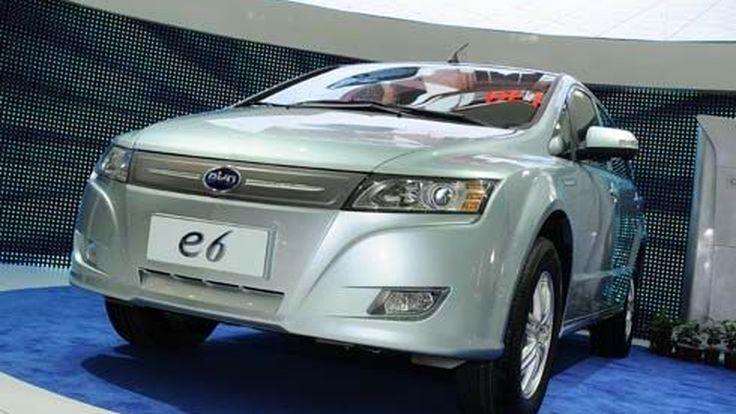 BYD E6 รถพลังงานไฟฟ้าจีน บุกเมืองลุงแซม ชูแบตเตอรี่ Fe คุยระยะทางทำการ 330 กิโลเมตร