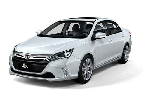 BYD Qin Concept ซีดานต้นแบบระบบไฟฟ้า จ่อเปิดตัวที่ 2012 Beijing Auto Show