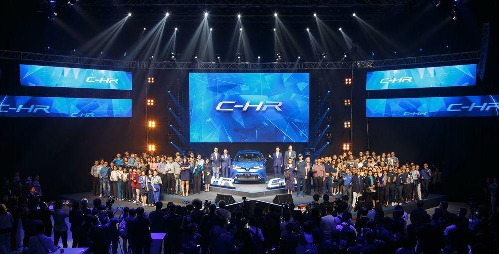 โตโยต้า ฉลองความสำเร็จด้วยงาน C-HR The Irresistible Nightพร้อมส่งมอบรถ C-HR ให้ลูกค้ากลุ่มแรก