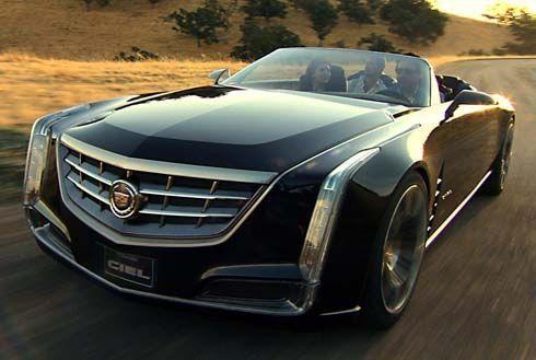 Cadillac เปิดตัว Ciel Concept สปอร์ตเปิดประทุนสุดหรูที่ Pebble Beach