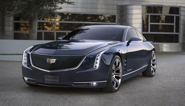 Cadillac Elmiraj รถต้นแบบรุ่นท็อปไลน์ ดีไซน์ล้ำอนาคต